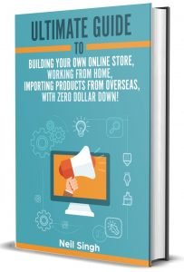 Cover Ultimate Guide starting your dropship business